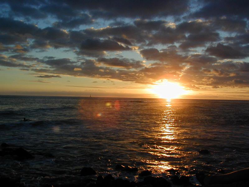 sunsetInHawaii